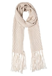 Evenandodd Scarf Offwhite Off White