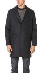 A.P.C. Primrose Overcoat Dark Navy