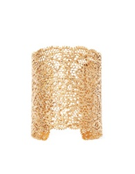 Aurelie Bidermann Vintage Lace Gold Plated Cuff