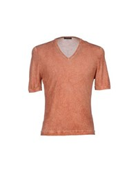 Allegri Knitwear Jumpers Men Orange