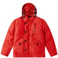 Givenchy Hooded Down Parka Red