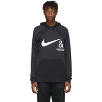 Nike Black And White Undercover Edition Nrg Pullover Hoodie