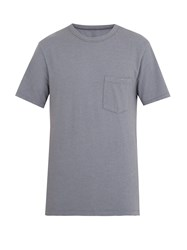 American Vintage Opyntale Crew Neck T Shirt Grey