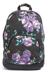 Volcom 'Schoolyard' Print Canvas Backpack