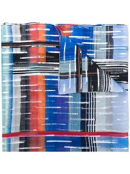 Paul Smith Ps By Printed Scarf Multicolour