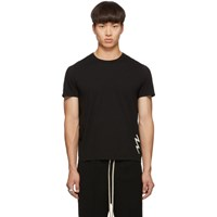 Rick Owens Black Short Level T Shirt