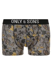 Only And Sons Onssam Shorts Smoked Pearl Grey