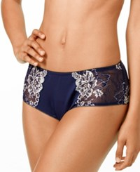 Lunaire Limoges Mesh And Lace Bikini 29732 Navy