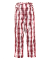 Stella Jean Colubro Checked Trousers