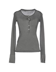 Crossley Topwear T Shirts Women Grey