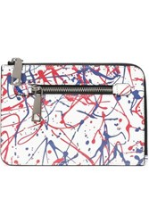Marc Jacobs Printed Textured Leather Kindle Case White