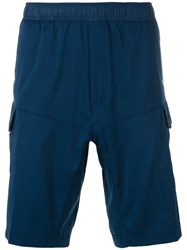 Adidas By White Mountaineering Side Pocket Shorts Blue