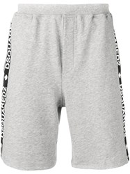 Dsquared2 Side Panelled Track Shorts Grey