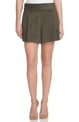 Women's 1.State Faux Suede Shorts