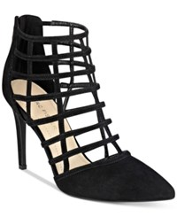 Marc Fisher Naples Caged Pumps Women's Shoes Black