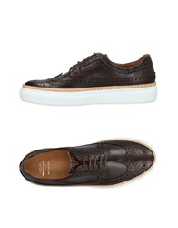 Pantofola D'oro Lace Up Shoes Cocoa