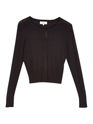 Louche Ives Bow Front Cardigan Black
