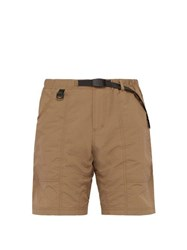 Gramicci Belted Technical Shorts Brown