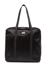 Madden Girl Satin Square Overnighter Black