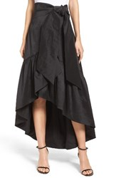 Eliza J Women's Faux Wrap Skirt