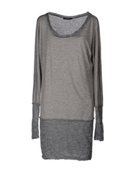 Bellwood Long Sleeve Sweaters Grey