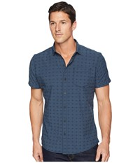 Kuhl Intrepid Pirate Blue Short Sleeve Button Up