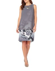 Phase Eight Fabrissa Print Dress Grey