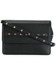 Red Valentino Studded Cross Body Bag Black