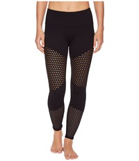 Lorna Jane Energised Core Ankle Biter Tights Black Women's Casual Pants