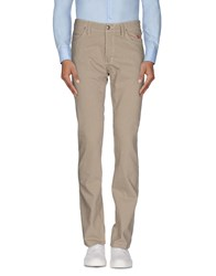 Jaggy Trousers Casual Trousers Men Beige
