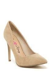 Penny Loves Kenny Opus Sue Pointed Toe Pump White
