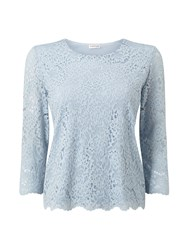 Eastex Jersey Lace Top Grey