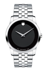 Movado 'Museum' Bracelet Watch 40Mm Silver