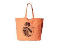 Roxy Need It Now Beach Tote Sunkissed Coral Tote Handbags Orange