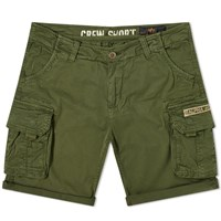 Alpha Industries Crew Short Green