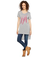Roper 1135 Poly Rayon Loose Fit Tee Blue Women's T Shirt