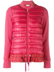 Moncler Puffer Front Jacket Red