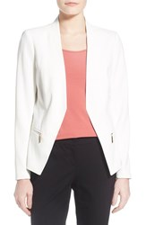 Women's Ivanka Trump Zip Pocket Jacket Ivory