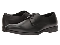 Z Zegna Parsons Smooth Calf Derby Black Men's Shoes