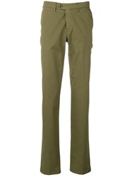 Canali Tailored Trousers Green