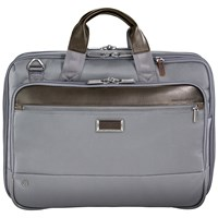 Briggs And Riley Atwork Medium Expandable Briefcase Grey