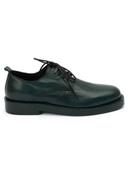 Ann Demeulemeester Classic Derby Shoes Green