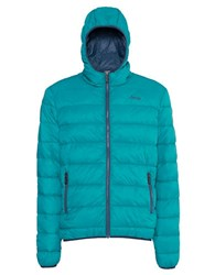 Jeep Quilted Eco Down Jacket Blue