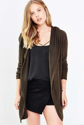 Silence And Noise Silence Noise Bleeker Cardigan Green
