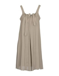 Crea Concept Short Dresses Dove Grey