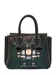 Mcm Milla Special Hologram Leather Bag