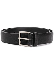 Orciani Textured Buckle Belt 60