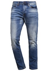 Jack And Jones Jjimike Jjoriginal Straight Leg Jeans Blue Denim