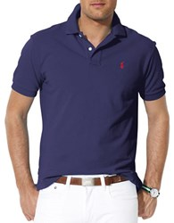 Polo Big And Tall Classic Fit Mesh Shirt Navy