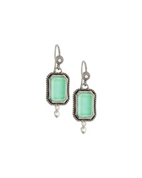 Armenta New World Green Turquoise Drop Earrings